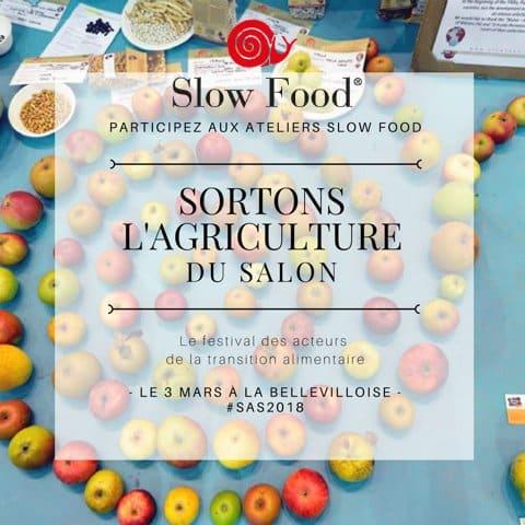 Atelier Slow Food – Sortons l'Agriculture du Salon
