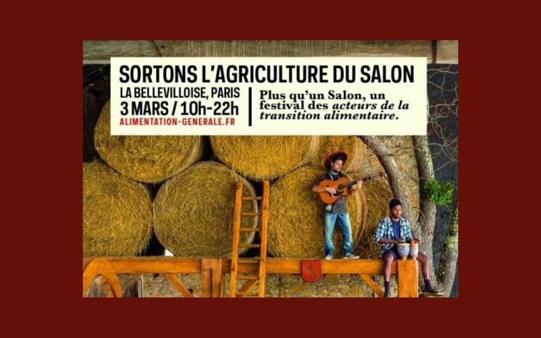 Slow Food participe à « Sortons l'Agriculture du Salon »