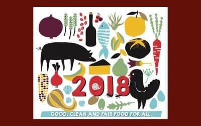 Slow Food en France vous souhaite une Bonne Année 2018 !