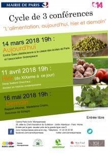 Conférences autour de la nutrition @ Paris Anim Montparnasse | Paris | Île-de-France | France