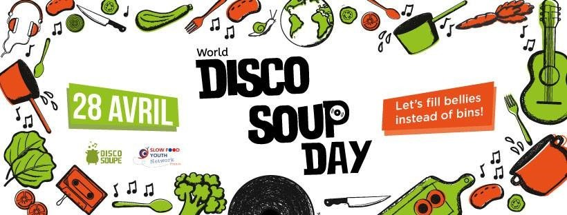 World Disco Soup Day : la journée mondiale de lutte contre le gaspillage alimentaire !