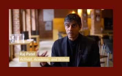 Quel avenir pour notre alimentation : échange avec Raj Patel