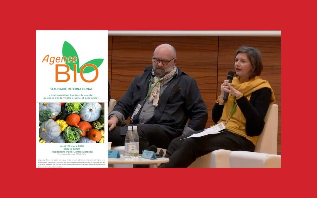 L'intervention de Slow Food à l'occasion du Séminaire international sur l'agriculture biologique de l'Agence Bio