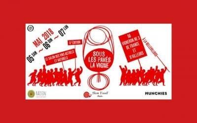Slow Food Paris au Salon des Vins naturels du 5 au 7 mai 2018 !