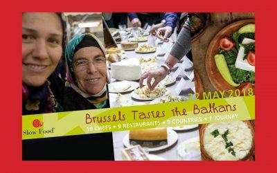 Un goût de Balkans à Bruxelles : à la découverte de l'héritage gastronomique et agricole du Sud-Est de l'Europe