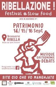Ribellazione ! Slow Food festival en Corse @ Brasserie Ribella | Patrimonio | Corse | France