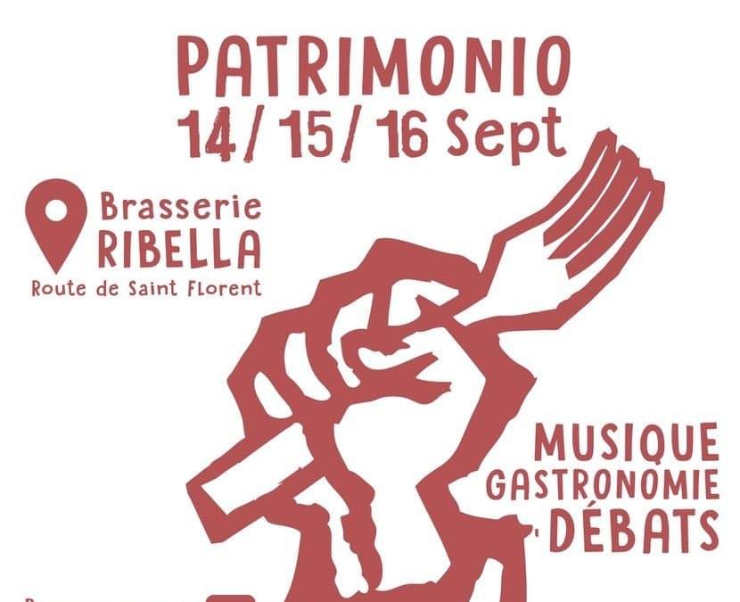 Ribellazione ! Slow Food festival en Corse