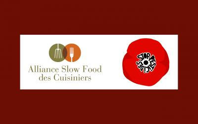 L'Alliance des Cuisiniers Slow Food soutient le collectif «Nous voulons des coquelicots» contre les pesticides dans l'agriculture