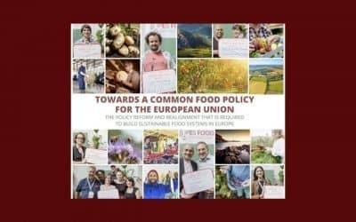 IPES Food propose une politique alimentaire commune pour l'Europe : Slow Food apporte sa contribution