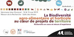 La Biodiversité agro-alimentaire et horticole au cœur de projets de territoire @ Université Bordeaux Montaigne | Bordeaux | Nouvelle-Aquitaine | France