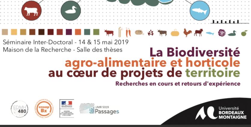 La Biodiversité agro-alimentaire au cœur de projets de territoire