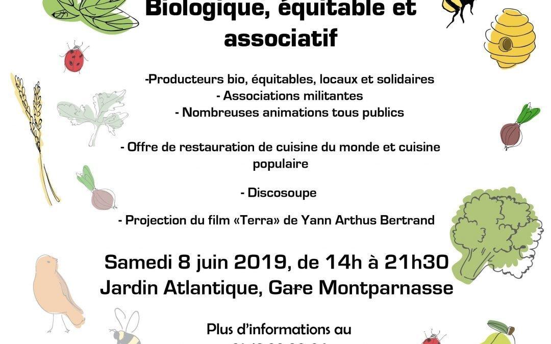 Marché bio, local éthique parisien