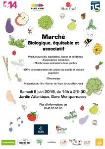 Marché bio, local éthique parisien @ Ecologie et alimentation durable | Paris | Île-de-France | France
