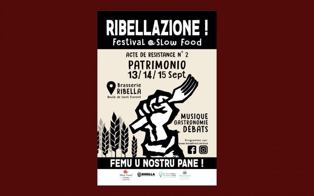 Ribellazione vous attend à Patrimonio du 13 au 15 septembre !