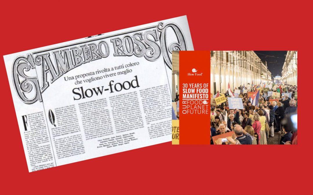 Le Manifeste Slow Food fête ses 30 ans : célébrons ensemble cet anniversaire important !