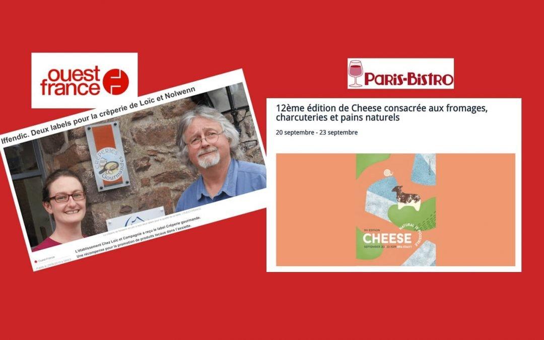 La revue de presse Slow Food en France pour l'alimentation et la biodiversité
