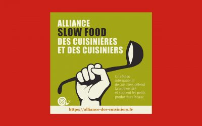 Communiqué de l'Alliance des Cuisiniers Slow Food en France