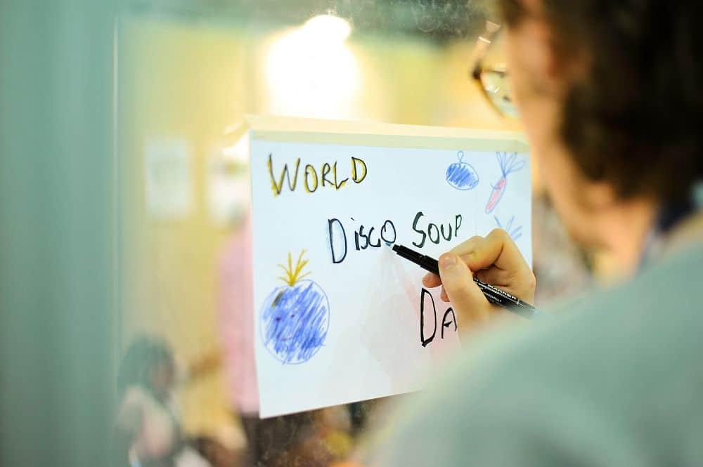 Édition virtuelle de la journée mondiale Disco Soupe