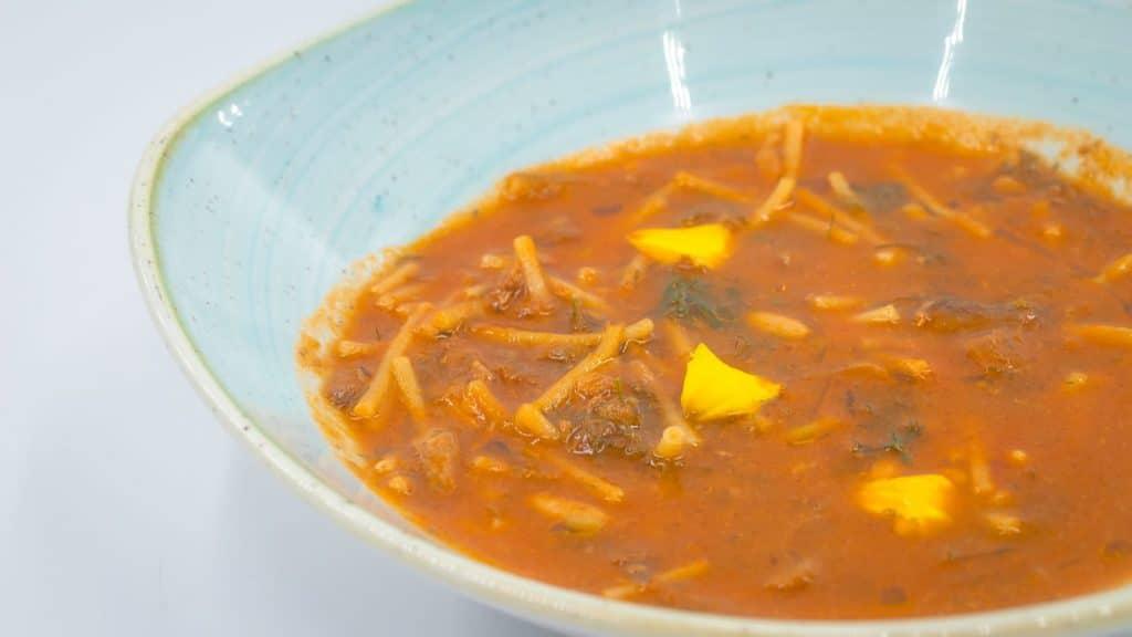 Une recette de l'Alliance Slow Food des Cuisiniers en Italie : la soupe de bonite de Lila Bentivegna