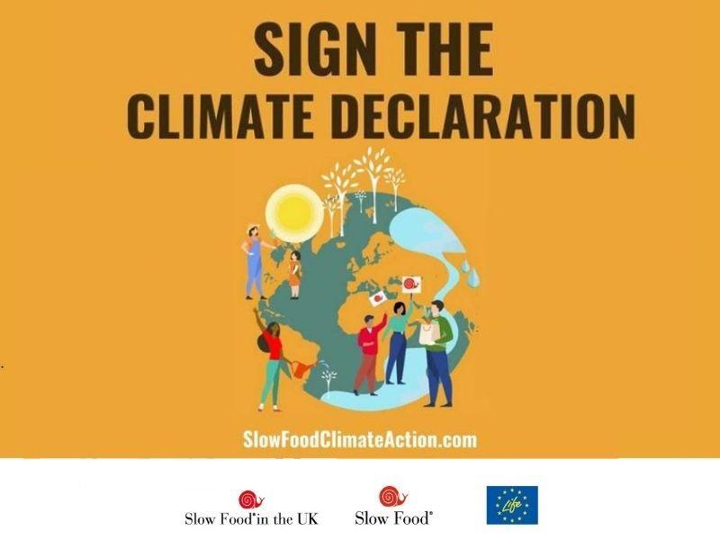 Signez la Déclaration sur le climat de Slow Food
