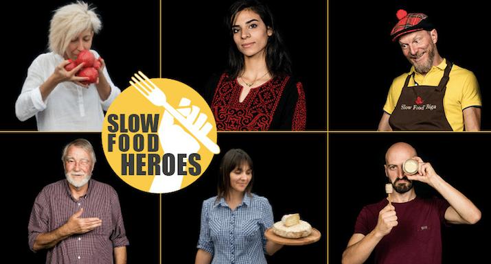 Slow Food présente ses Slow Food Heroes